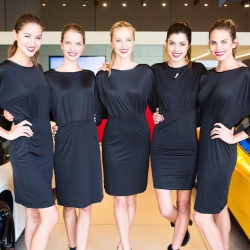 Hostesses in Stuttgart
